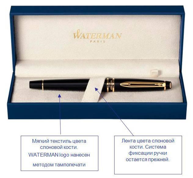 Ручка перьевая Waterman Perspective White CT (S0944560) - фото 5