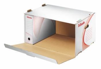 Короб архивный Esselte Boxy 128910 белый
