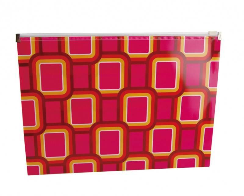 Папка Бюрократ Fusion FUZA4 А4/пластик (компл.:1шт) (FUZA4) - фото 1