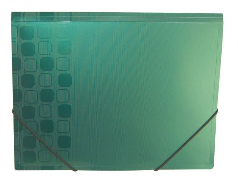 Папка на резинке Бюрократ CONCEPT CON510 А4 пластик 0.4мм корешок 30мм ассорти - фото 1