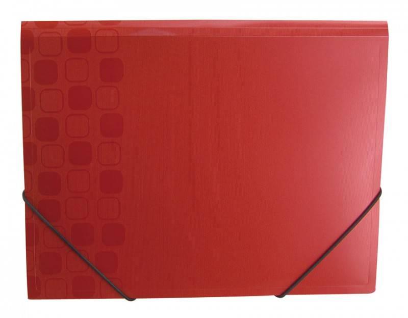 Папка на резинке Бюрократ CONCEPT CON510 А4 пластик 0.4мм корешок 30мм ассорти - фото 2