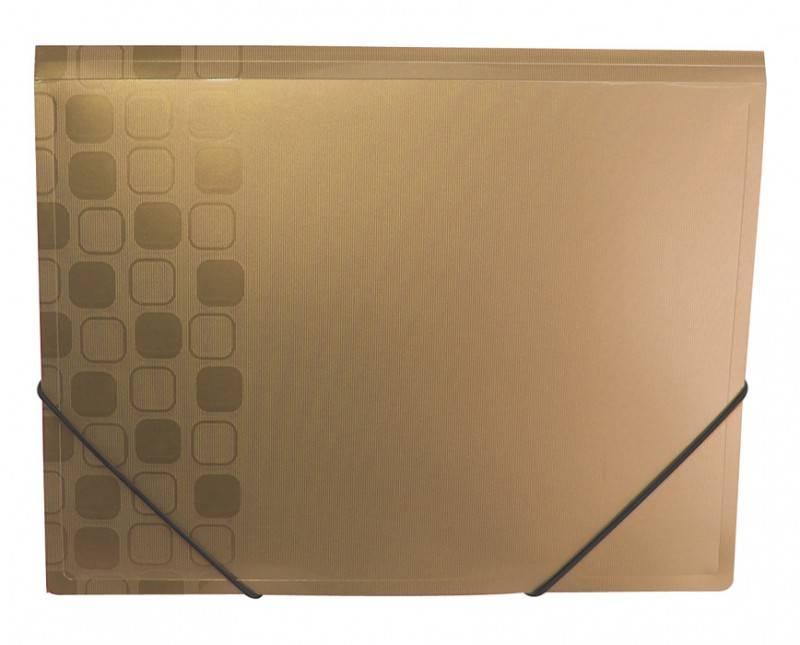 Папка на резинке Бюрократ CONCEPT CON510 А4 пластик 0.4мм корешок 30мм ассорти - фото 3