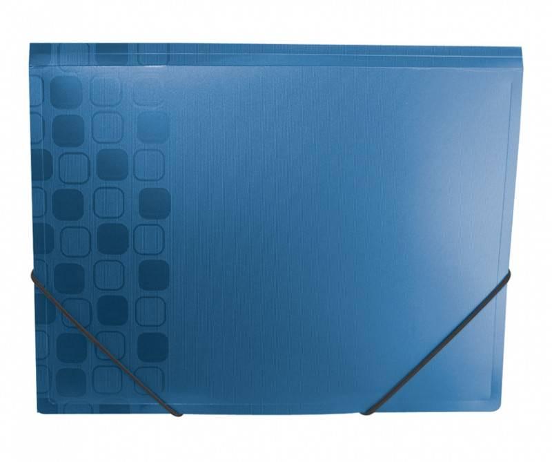 Папка на резинке Бюрократ CONCEPT CON510 А4 пластик 0.4мм корешок 30мм ассорти - фото 4