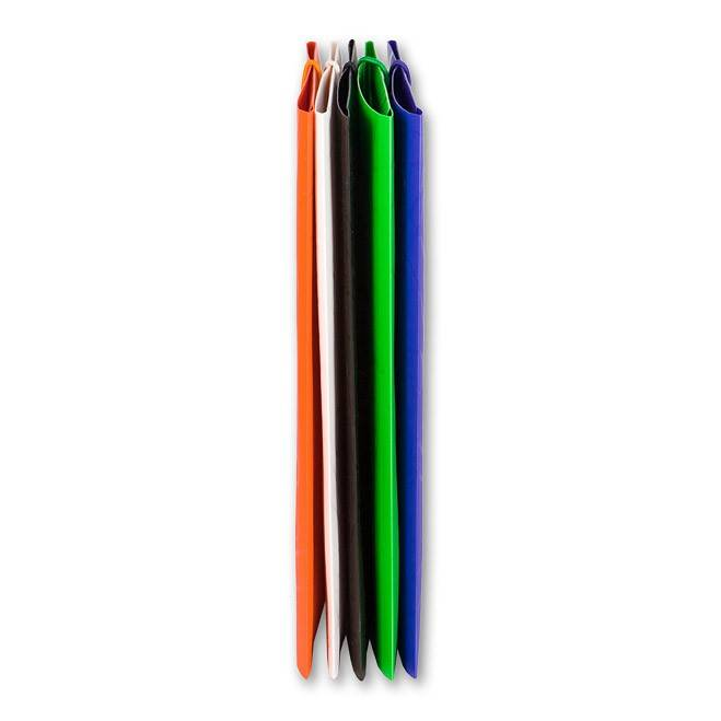 Папка на резинке Бюрократ GALAXY GA510wt А4 пластик 0.5мм корешок 30мм белый - фото 2