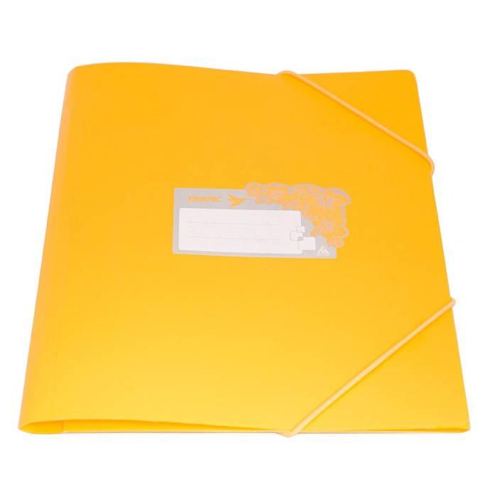 Папка на резинке Бюрократ TROPIC TR510 А4 пластик 0.5мм корешок 30мм ассорти - фото 3