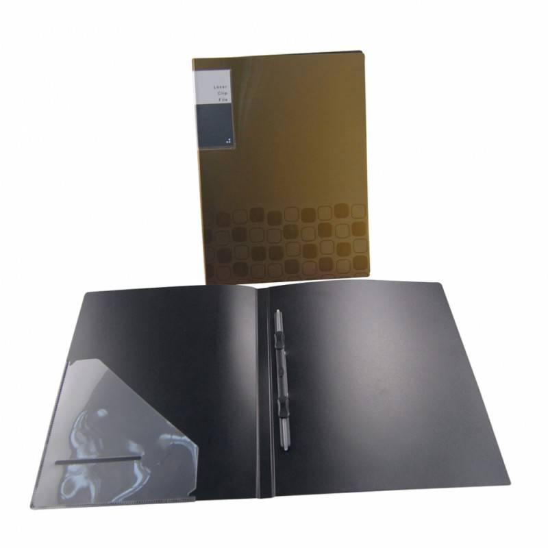 Папка с пласт. пруж. скоросшивателем Бюрократ CONCEPT CON06P А4 пластик 0.6мм ассорти - фото 1