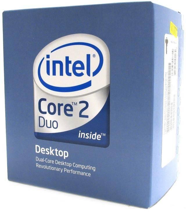 Процессор Intel Core 2 Duo E4500  LGA 775 2.2ГГц - фото 1