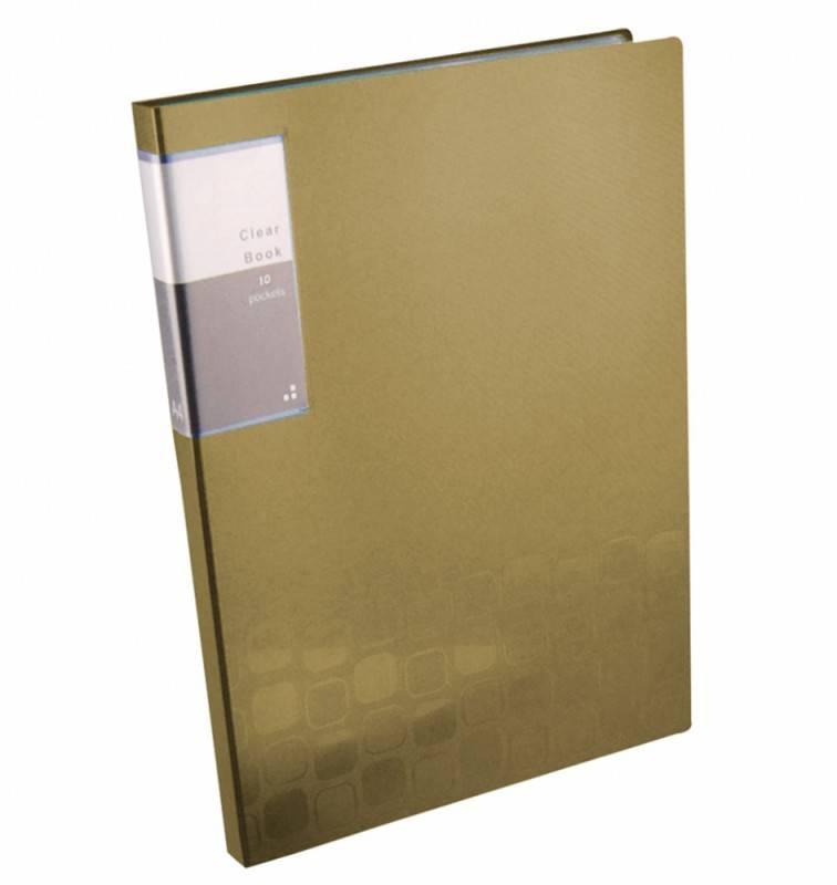 Папка с 10 прозрач. вкладышами Бюрократ CONCEPT CON10 А4 пластик 0.4мм ассорти - фото 3