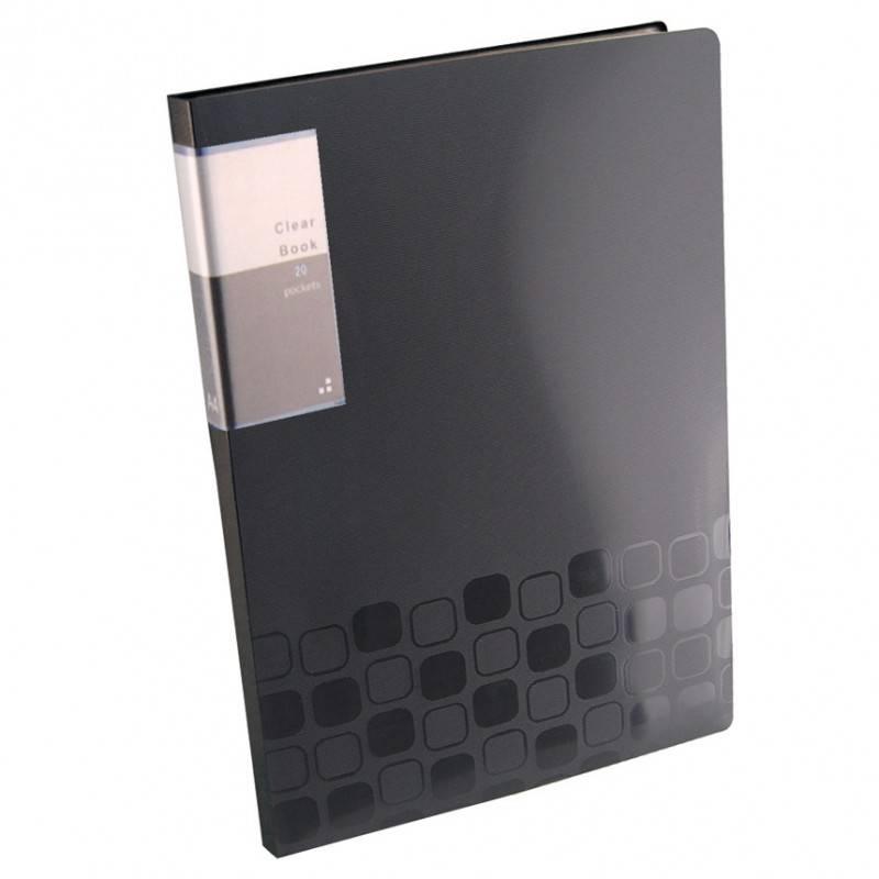 Папка с 20 прозрач. вкладышами Бюрократ CONCEPT CON20 А4 пластик 0.5мм ассорти - фото 5