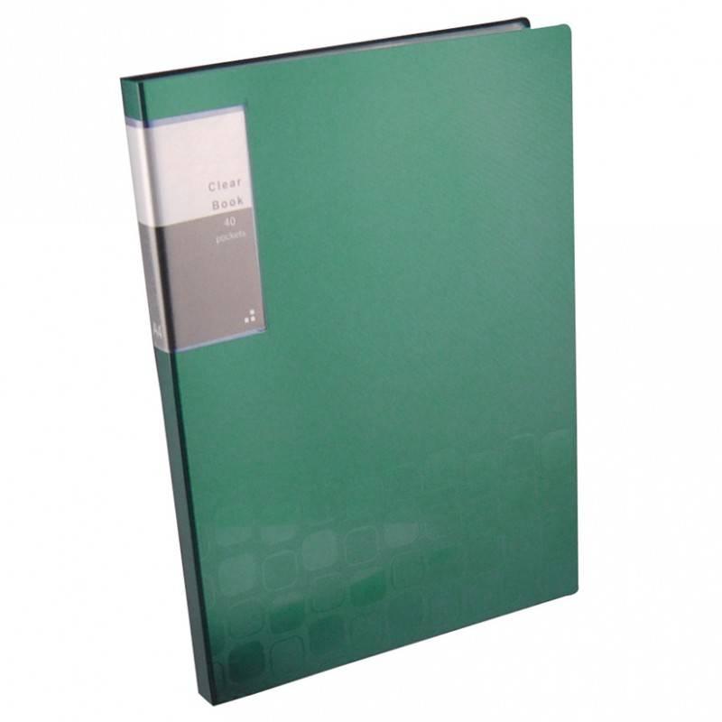Папка Бюрократ Concept CON40 А4/вкладышей:40/пластик (компл.:1шт) (CON40) - фото 1
