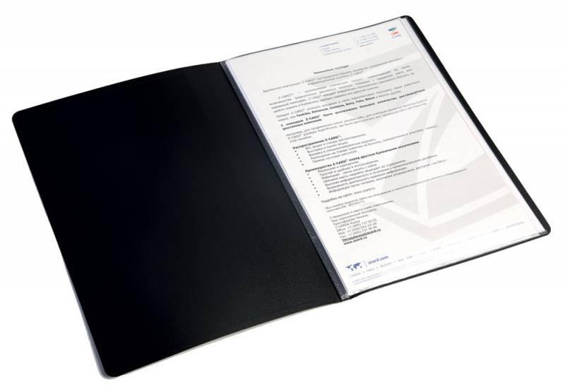 Папка Бюрократ EC40black - фото 2