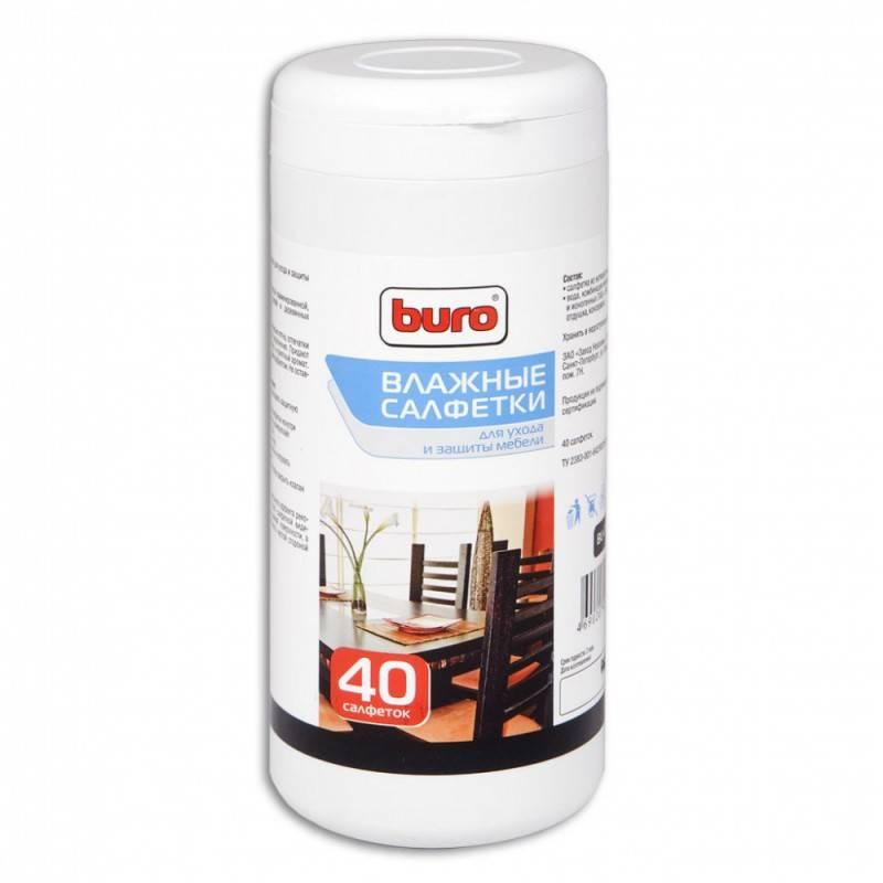 Чистящие салфетки Buro BU-F01 Влажные для мебели - фото 1