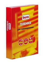 Пленка для ламинирования Buro BU-4LP75 75мкм A4 (100шт)