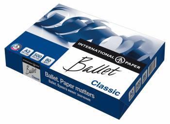Бумага International Paper Ballet Classic A3 80г/м2 500л. (плохая упаковка)