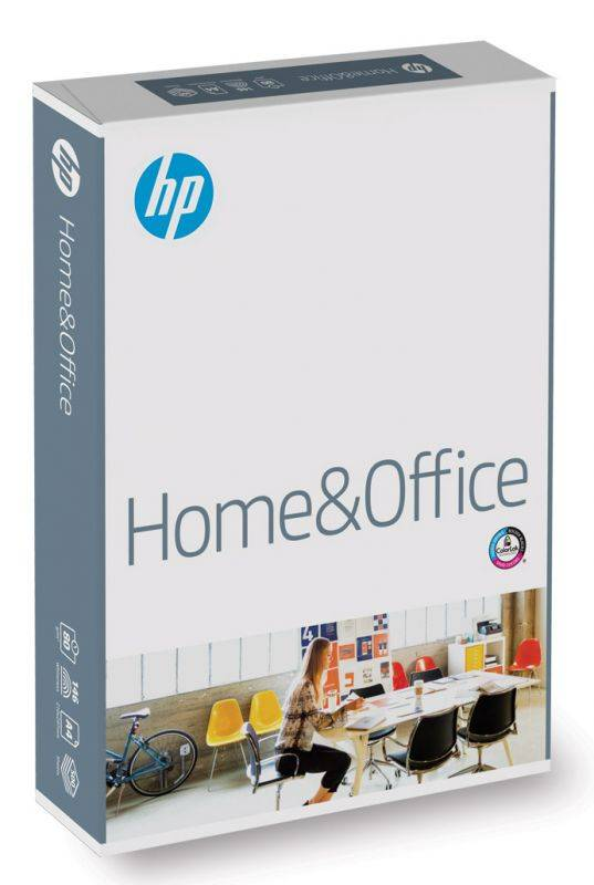 Бумага International Paper HP Home&Office A4/80г/м2/500л. белый - фото 1