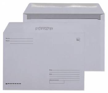 """Конверт Бюрократ """"Куда-Кому"""" белый, формат C4, в упаковке 500шт. (162)"""