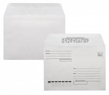 """Конверт Бюрократ """"Куда-Кому"""" белый, формат C6, в упаковке 1000шт. (201)"""