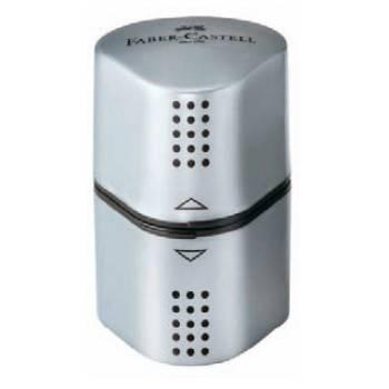 Точилка для карандашей Faber-Castell Trio Grip 2001 серый