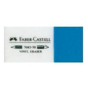 Виниловый комбинированный ластик 7082, в картонной коробке, 30 шт., Faber Castell - фото 1