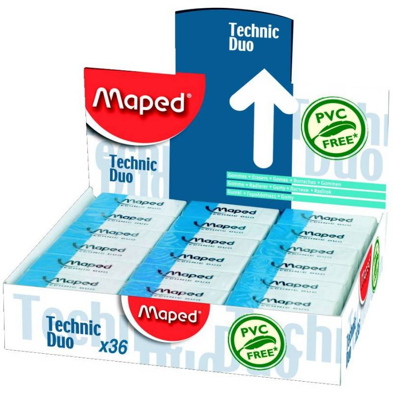 Ластик Maped TECHNIC DUO 2в1 - фото 1