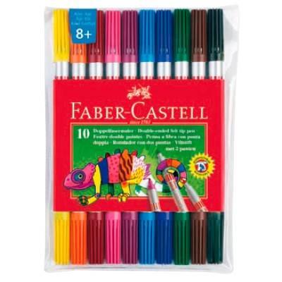 Фломастеры Faber-Castell Eberhard Faber 10цв. (151110) - фото 1