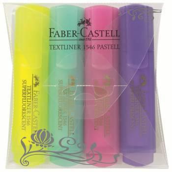 Набор текстовыделителей Faber-Castell 154610 4цв.