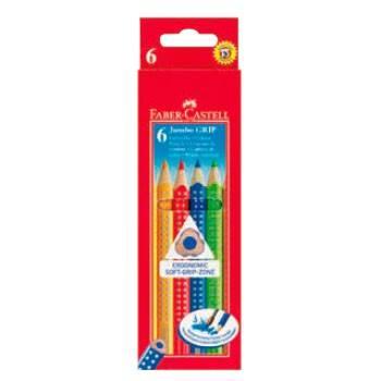Цветные карандаши Faber-Castell JUMBO GRIP