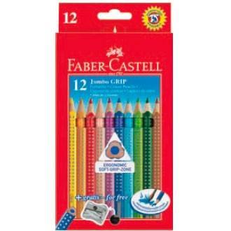 Карандаши цветные Faber-Castell Jumbo Grip