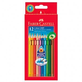 Карандаши цветные Faber-Castell Grip 12цв. (112412)
