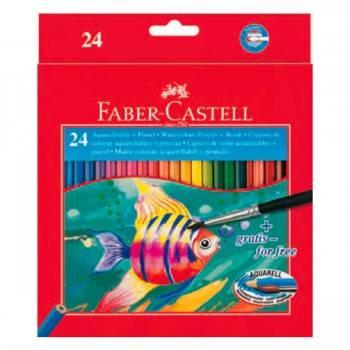 Карандаши цветные акварельные Faber-Castell Colour Pencils 24цв. (114425)