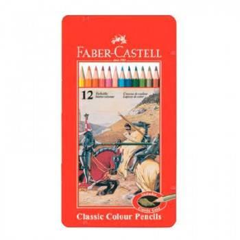 Карандаши цветные Faber-Castell Рыцарь 12цв. (115844)