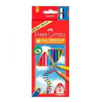 Карандаши цветные Faber-Castell Junior Grip 10цв. (116510)