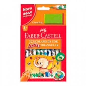 Цветные карандаши Faber-Castell JUMBO TRIANGULAR