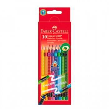 Карандаши цветные Faber-Castell Grip 2011 10цв. (116613)