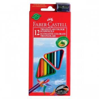 Карандаши цветные Faber-Castell Eco 12цв. (120523)