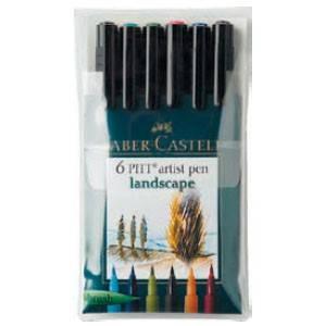Набор ручек капиллярных Faber-Castell Pitt Artist Pen (167105)