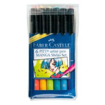 Ручки капиллярные Faber-Castell Manga 167130