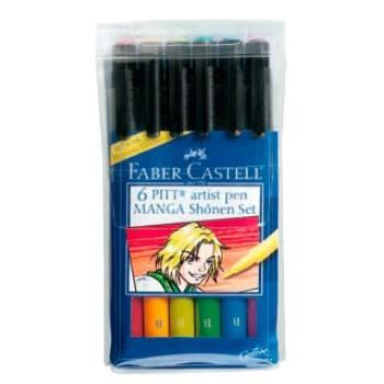 Ручки капиллярные Faber-Castell Manga 167131
