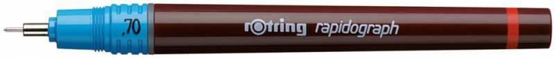 Рапидограф Rotring 1903473 0.7мм съемный пишущий узел/сменный картридж - фото 1