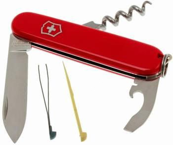 Нож со складным лезвием Victorinox Waiter красный (0.3303)