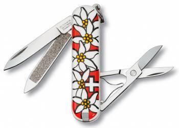 Нож со складным лезвием Victorinox Classsic Edelweiss (0.6203.840)