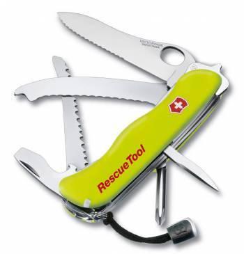 Нож со складным лезвием Victorinox RescueTool One Hand салатовый (0.8623.MWN)