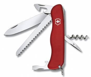 Нож со складным лезвием Victorinox Rucksack красный (0.8863)