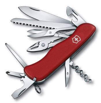 Нож со складным лезвием Victorinox Hercules красный (0.9043)