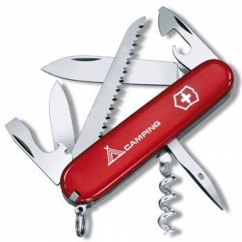 Нож со складным лезвием Victorinox Camper Camping красный (1.3613.71)