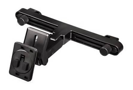 Держатель Hama H-106335 автомобильный для  iPad для H-106338 H-106344 наклон. поворот. черный  - фото 1