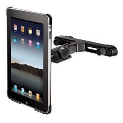 Держатель Hama H-106335 автомобильный для  iPad для H-106338 H-106344 наклон. поворот. черный  - фото 3