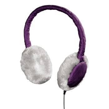 Гарнитура Hama Earmuff H-115987 фиолетовый - фото 1