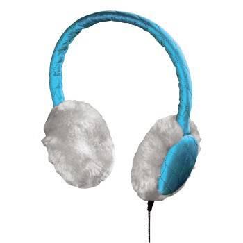 Гарнитура Hama Earmuff H-115988 голубой - фото 1