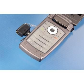Адаптер Hama Mini для LG 3.5мм черный (H-104834) - фото 2